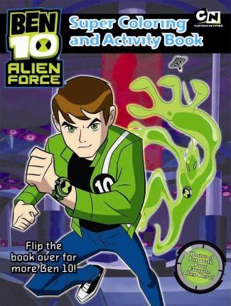 Ben 10 Super Coloring and Activity Book