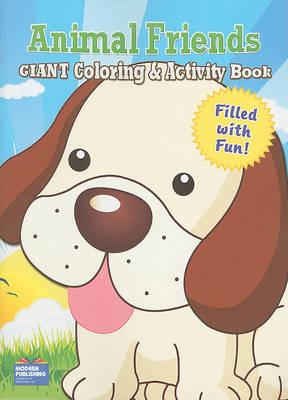 Animal Friends Giant Coloring & Activity Book
