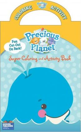 Fisher Price Precious Planet Super Color Book With Handle