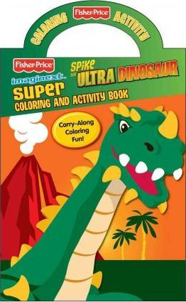Fisher Price Spike Super Color Book With Handle