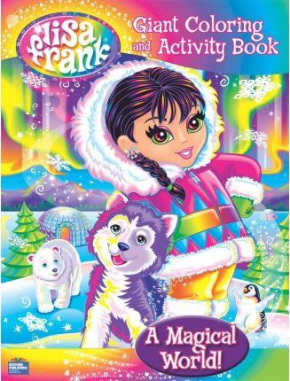 A Magical World! Giant Coloring and Activity Book