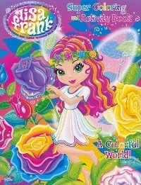 Lisa Frank Super Coloring and Activity Book