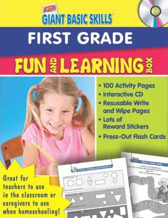 Modern Giant Basic Skills Fun and Learning Box First Grade