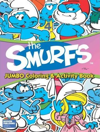 Smurfs Jumbo Coloring & Activity Bk