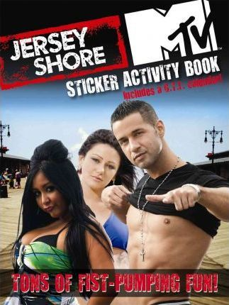 Jersey Shore Sticker Activity Book