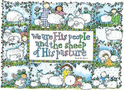 Boxed Note Cards, We Are His Sheep, Psalm 100:3