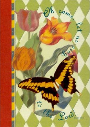 Spring Harlequin Deluxe Personal Journal