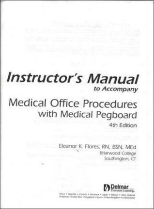 Medical Office Procedures with Medical Pegboard