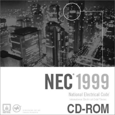 Electronic 1999 Natl Electrical Code on CD-ROM