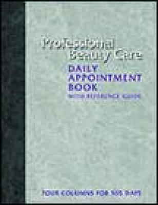 Professional Beauty Care Daily Appointment Book
