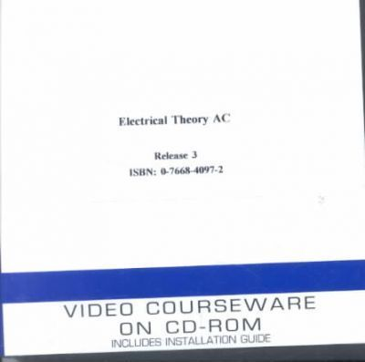 Electrical Theory - Ac Video Set on CD-Rom