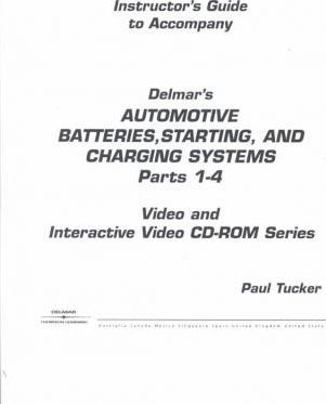 Batteries Vs Set 1 Basic Electricity and Automotive Batteries