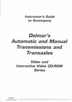 Transmissions and Transaxles Video Series: Automatic Bundle Tapes 1-4
