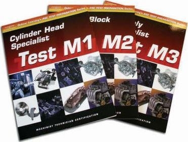 ASE Test Prep for Engine Machinists (M1-M3): Complete Set