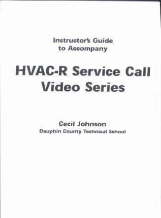 HVAC-R Service Calls, Video Bundle 2, Tapes 5-8