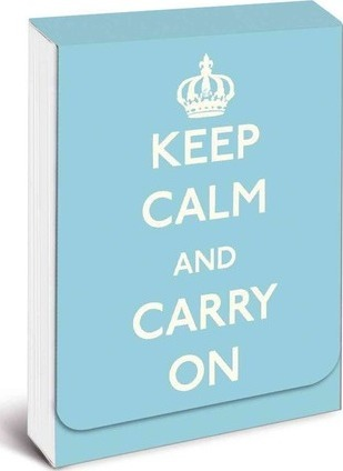 Keep Calm and Carry on Purse Notes