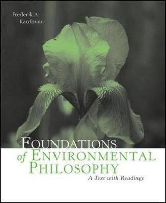Foundations of Environmental Philosophy