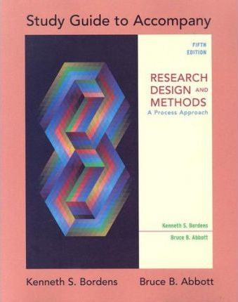 Study Guide: Sg Research Design & Methods