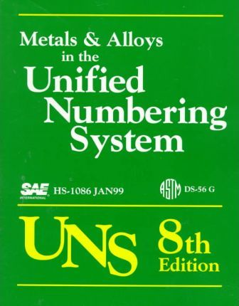 Metals and Alloys in the Unified Numbering System