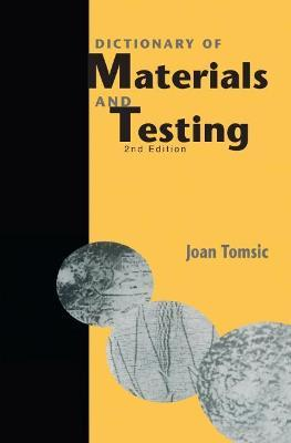 Dictionary of Materials and Testing