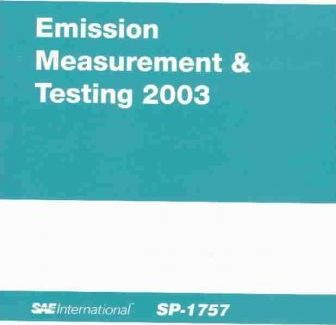 Emission Measurement & Testing 2003