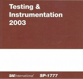 Testing and Instrumentation 2003