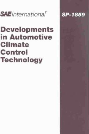 Developments in Automotive Climate Control Technology
