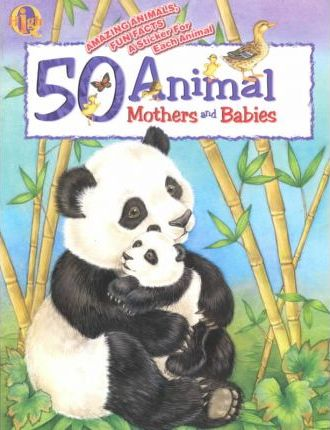 50 Animal Mothers and Babies With Sticker