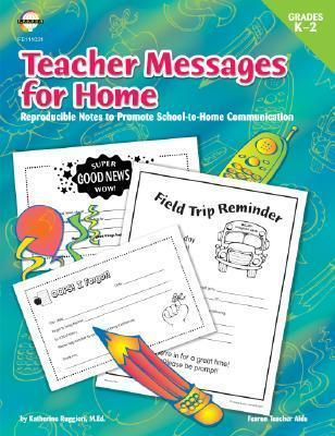 Teacher Messages for Home