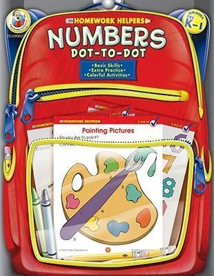 Numbers Dot-To-Dot, Grades PreK-1