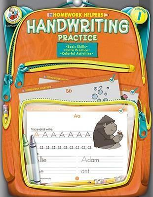 Handwriting Practice, Homework Helpers, Grade 1