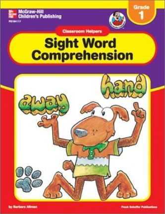 Classroom Helpers Sight Word Comprehension, Grade K