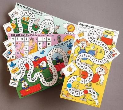 Short & Long Vowels Board Game