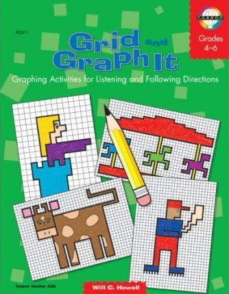 Grid and Graph It, Grades 4 to 6