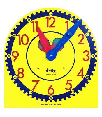 Color-Coded Judy(r) Clock