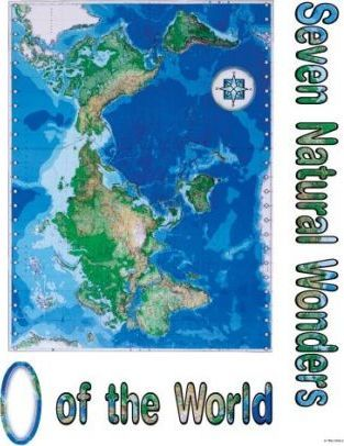 Seven Natural Wonders of the World Bulletin Board Set