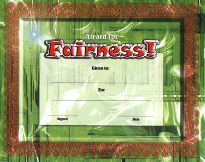 Fit-In-A-Frame Award for Fairness