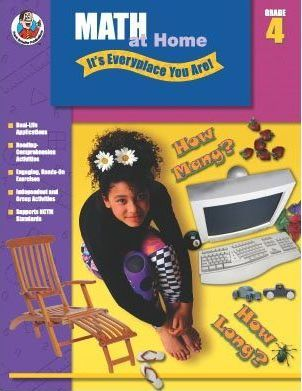 Math at Home - It's Everyplace You Are!, Grade 4