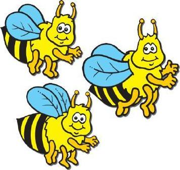 Bees Little Chart Stickers