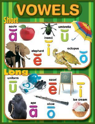 Long and Short Vowels Cheap Chart