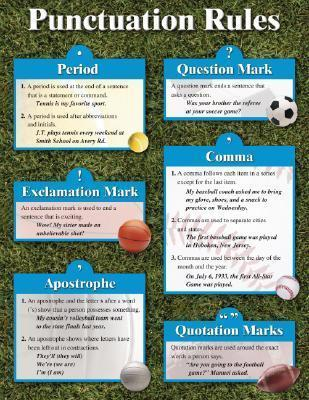 Punctuation Rules Cheap Chart
