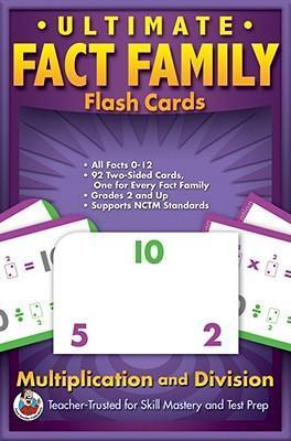 Ultimate Fact Family Flash Cards, Grades 3 - 5