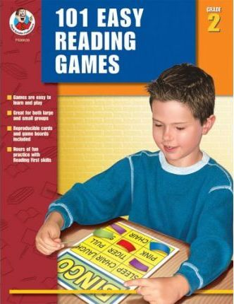 101 Easy Reading Games, Grade 2