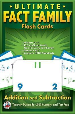 Ultimate Fact Family Flash Cards, Grades K - 3