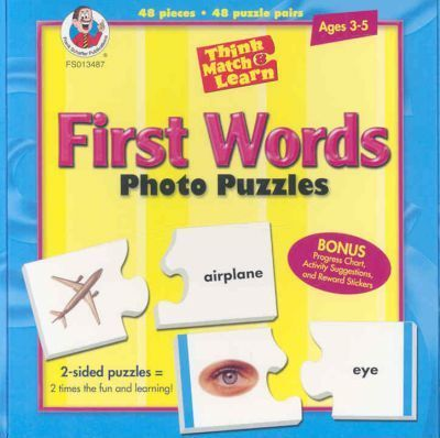 Think, Match & Learn First Words Photo Puzzles