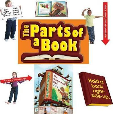 The Parts of a Book Bulletin Board Set