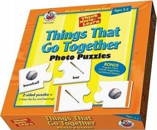 Think, Match & Learn Things That Go Together Photo Puzzles