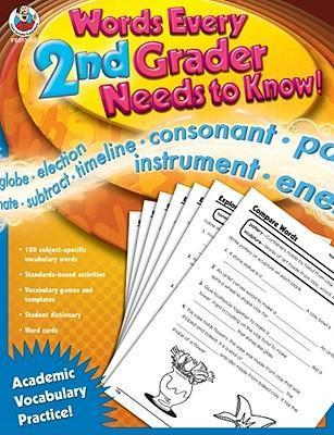 Words Every 2nd Grader Needs to Know!