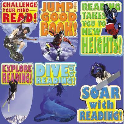 Read to the Extreme! Bulletin Board Set
