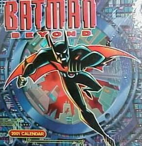 Batman Beyond 2001 Calendar